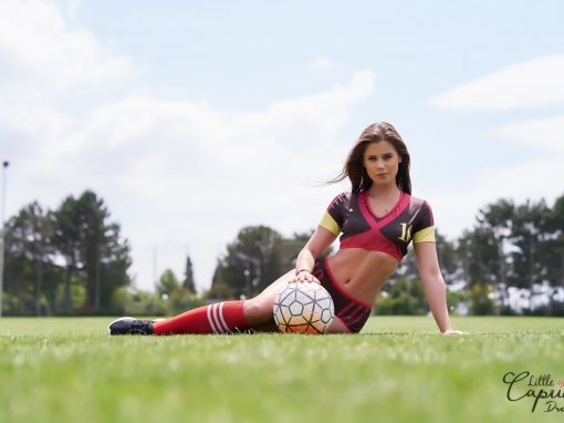 German Soccer Camp – Little Caprice