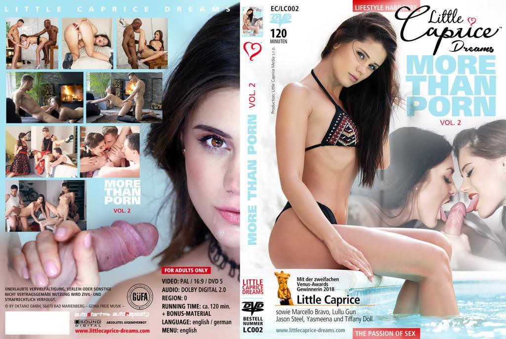 more than pron DVD Vol. 2 - Little Caprice & MArcello Bravo