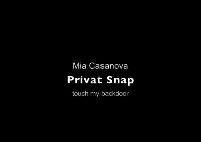 SUPERPrivat Snap - Mia Casanova -  backdoor