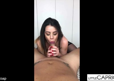 Privat Snap - Cum in my face