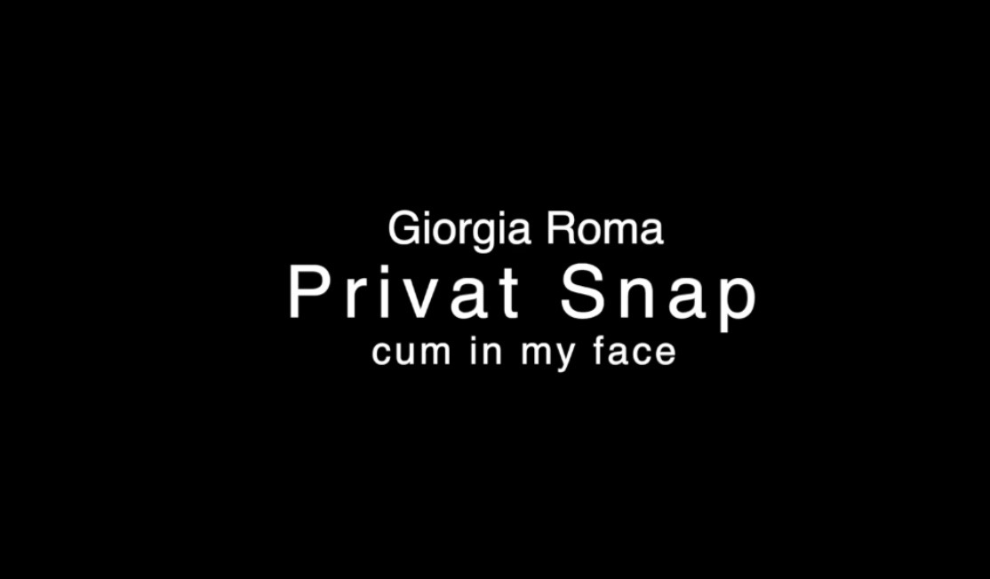 Privat Snap – Cum in my face
