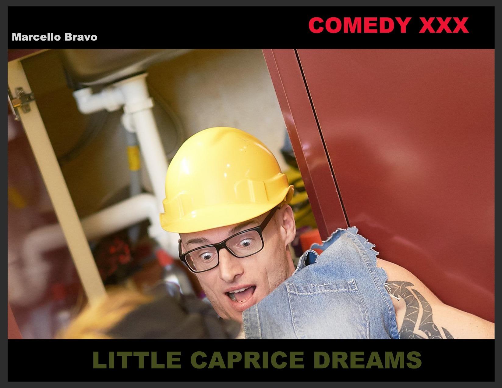 comedy porn, Little Caprice, Marcello Bravo