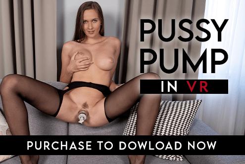 VR Stacy Cruz Pussy Pump