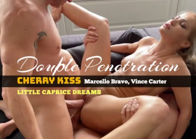 SuperprivateX Double Penetration - Cherry Kiss