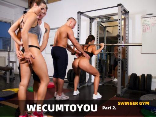 WeCumToYou Part 2 – Gym