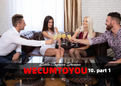 WeCumToYou Part 10 - episode 1.  She makes him swing